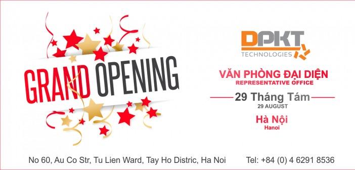 Thành lập Văn Phòng Đại Diện tại Hà Nội